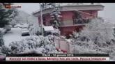 Neve fin sulle coste adriatiche