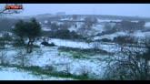 Maltempo, scuole chiuse per neve in Puglia e Basilicata