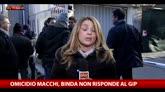 Omicidio Macchi, Binda non risponde al gip
