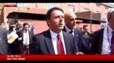 Renzi: con sospensione Schengen a rischio idea Ue