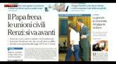 Rassegna stampa: i giornali di sabato 23 gennaio 2016