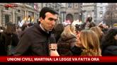 Unioni civili, Martina: la legge va fatta ora