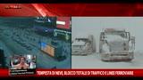 Tempesta Usa, blocco totale di traffico e linee ferroviarie