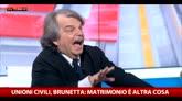 """Brunetta: """"Forza Italia è per il No alla Cirinnà al 97%"""""""