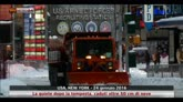Migliora la situazione meteo a New York