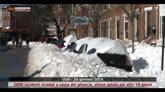 Forte nevicata nel nordest degli USA