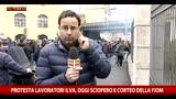 Protesta lavoratori Ilva: sciopero e corteo della Fiom