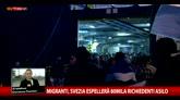 Migranti, la Svezia espellerà 80mila richiedenti asilo