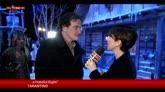"""Tarantino a Sky TG24: """"Bellissimo essere qui a Cinecittà"""""""