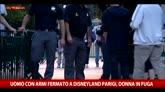 Uomo con armi fermato a Disneyland a Parigi, donna in fuga