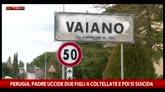Perugia, padre uccide due figli a coltellate e si suicida