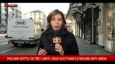 Polveri sottili oltre i limiti, misure anti-smog a Milano