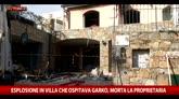 Esplosione in villa che ospitava Garko, morta proprietaria
