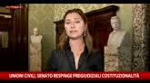 Ddl Cirinnà, Senato respinge pregiudiziali costituzionalità