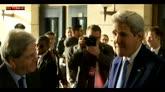 """Kerry a Roma: """"Schiacceremo l'Isis ovunque si trovi"""""""