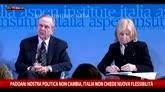 """03/02/2016 - Padoan: """"Italia non chiederà nuova flessibilità"""""""
