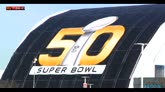 50mo Super Bowl, sicurezza massima per Broncos-Panthers