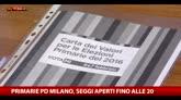 Primarie Pd Milano, seggi aperti fino alle 20