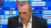 """07/02/2016 - Castori: """"L'espulsione di Bianco, abbaglio dell'arbitro"""""""