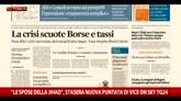 Rassegna stampa, i giornali di mercoledì 10 febbraio