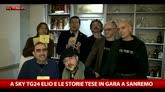 12/02/2016 - A Sky TG24 Elio e le storie tese, in gara a Sanremo