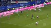 Amburgo-Borussia Moenchengladbach 3-2