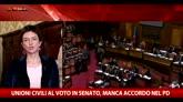 Unioni civili oggi al voto in Senato: il punto