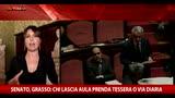 Senato, Grasso: chi lascia Aula prenda tessera o via diaria