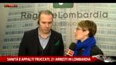 """Tangenti Lombardia, Romeo (Lega)  """"Andiamo avanti"""""""