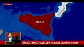 Migranti, naufragio in Sicilia: corpi in mare