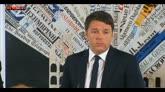 """Unioni civili, Renzi: """"Mettere fine a questo lungo rinvio"""""""