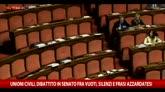Unioni civili, Senato fra vuoti, silenzi, frasi azzardate