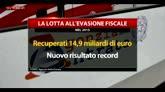 Fisco, nel 2015 risultati record da lotta evasione