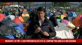 Migranti, in 12mila bloccati tra Grecia e Macedonia