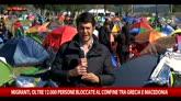 Migranti, oltre 12mila persone bloccate a Idomeni