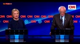 Usa, nuovo duello tv: scintille tra Clinton e Sanders