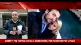 Coppia uccisa a Pordenone, per pm movente è litigio