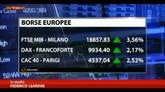 Draghi taglia a zero i tassi, festeggiano i mercati