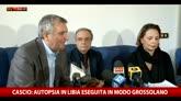 Medico legale: in Libia eseguita autopsia grossolana