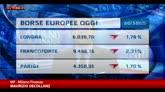 Borse: rialzo dopo annuncio Bce, ma chiudono in rosso