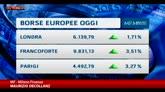 Borse, Milano vola: + 4,8%