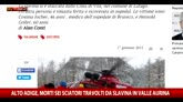 Valanga in Alto Adige, almeno 6 le vittime