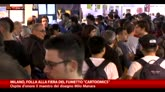 Milano, folla di appassionati a Cartoomics 2016
