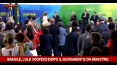 Brasile, Lula sospeso da ministro del governo