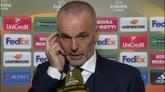 """Pioli dopo il ko in Europa League: """"Serviva orgoglio"""""""