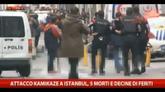 Attacco kamikaze a Istanbul, 5 morti e decine di feriti