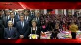 Bruxelles, il minuto di silenzio per le vittime: il video