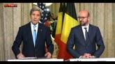 """Kerry: """"Stati Uniti sono al fianco del Belgio"""""""