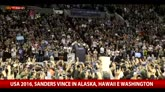 27/03/2016 - America 2016, Sanders vince Alaska, Hawaii e Washington