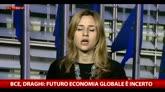 07/04/2016 - Bce, Draghi: futuro economia globale è incerto